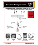 Welding Protection for Drum Hoists