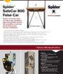 Spider SafeCar 800 False Car