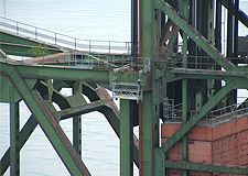 CN Rail Second Narrows Swing Bridge